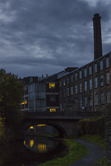 photoblog image the towpath at New Mills