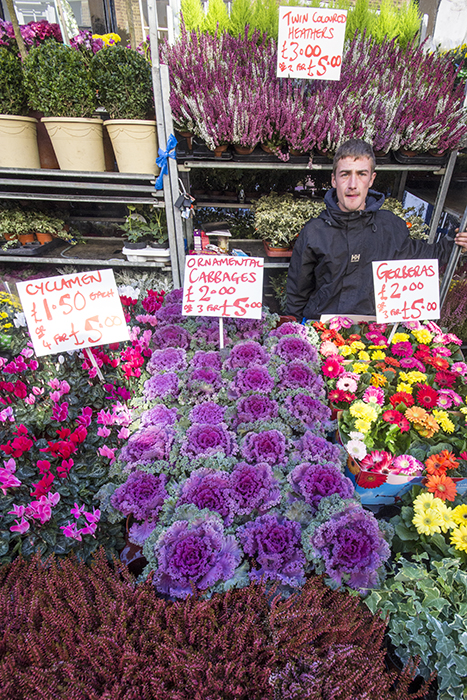 photoblog image Columbia Road Flower Market