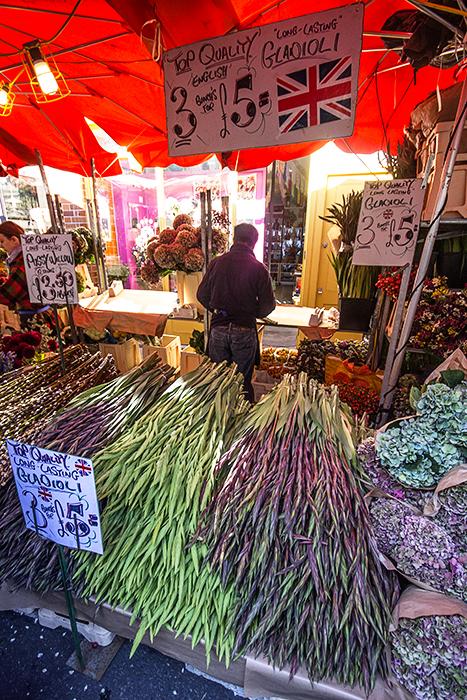 photoblog image Columbia Road Flower Market