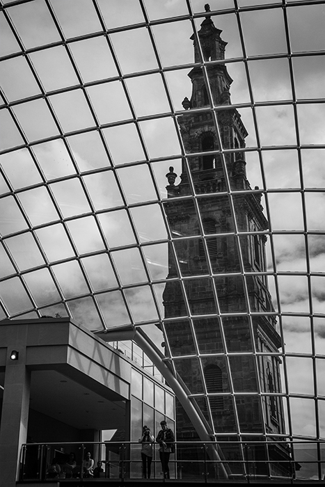 photoblog image inside the new Trinity shopping centre in Leeds