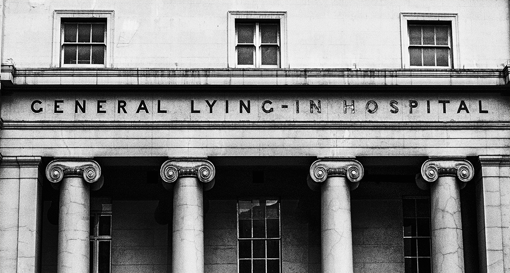 photoblog image Lying-in Hospital