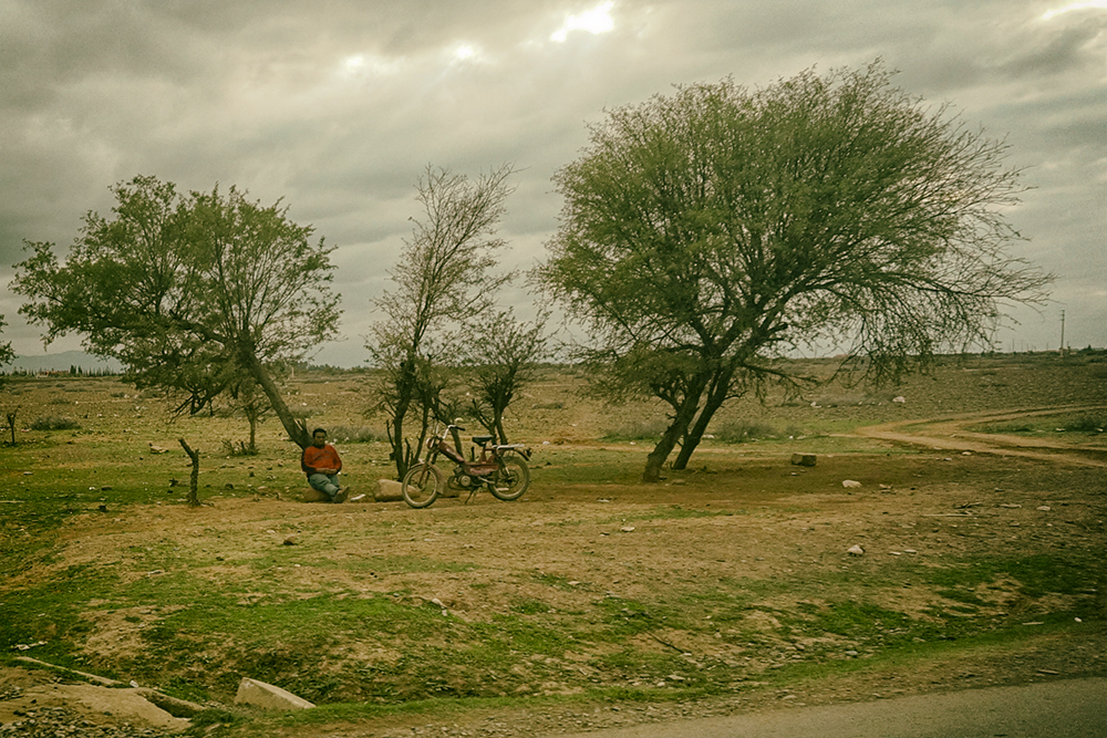 photoblog image Seen from the bus window - everyday life in Morocco 5/9