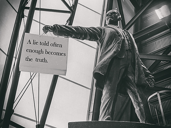 Lenin goes to Cosford
