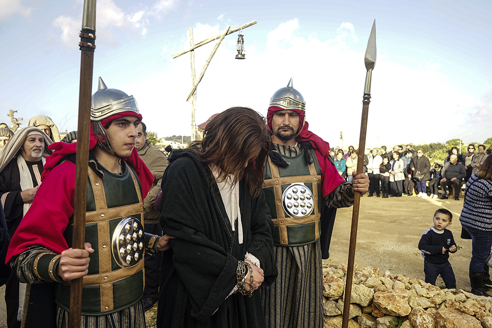 photoblog image Passion Play on Gozo