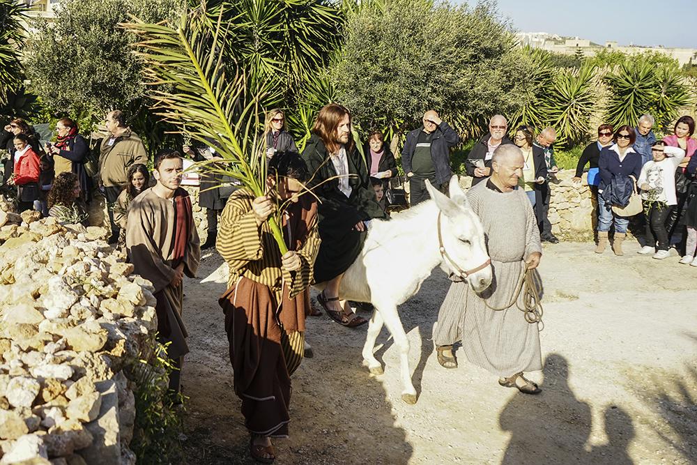 photoblog image Passion Play on Gozo
