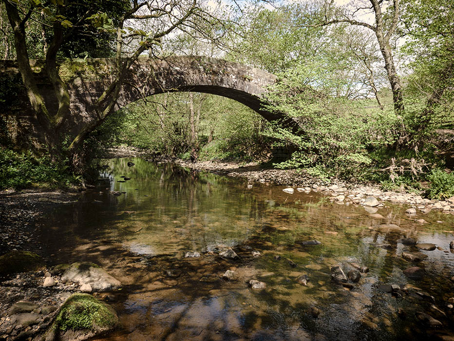 photoblog image Washburn packhorse bridge