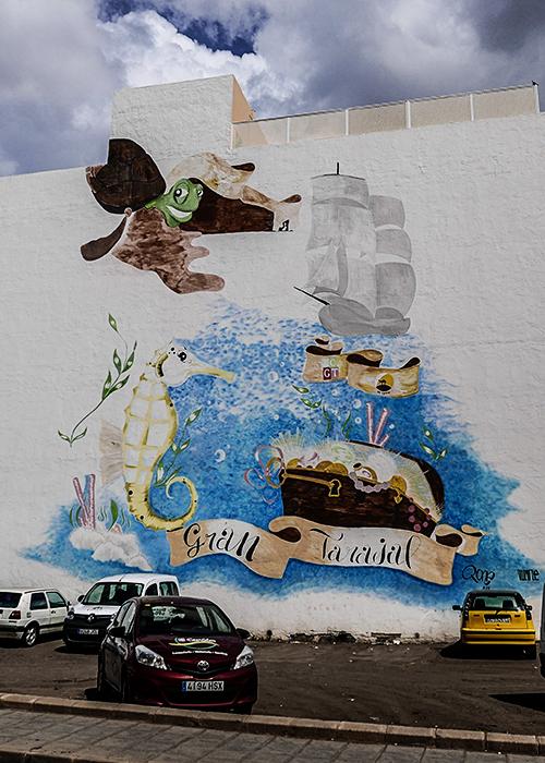 photoblog image Fuerteventura murals