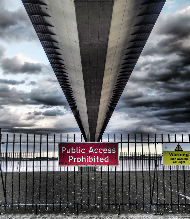 photoblog image Humber bridge