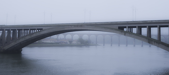 A misty morning in Berwick